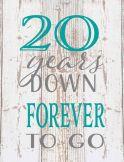 20 years down