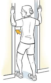 door chest stretch