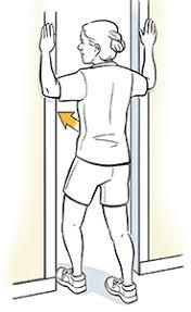 door chest stretch